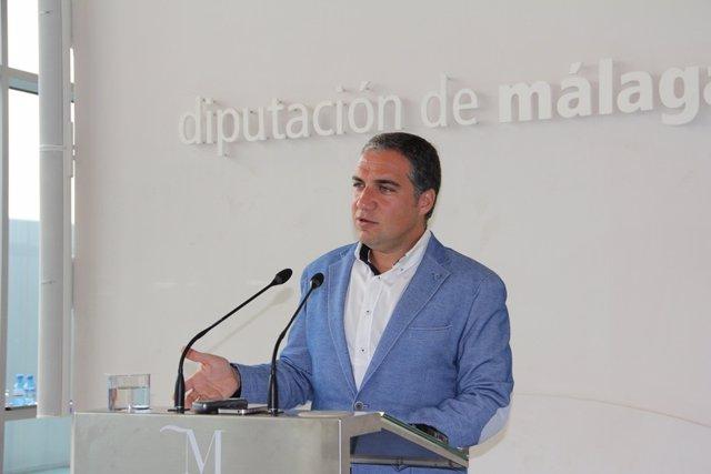 Elías bendodo presidente de la diputación de málaga mandato 2015-2019