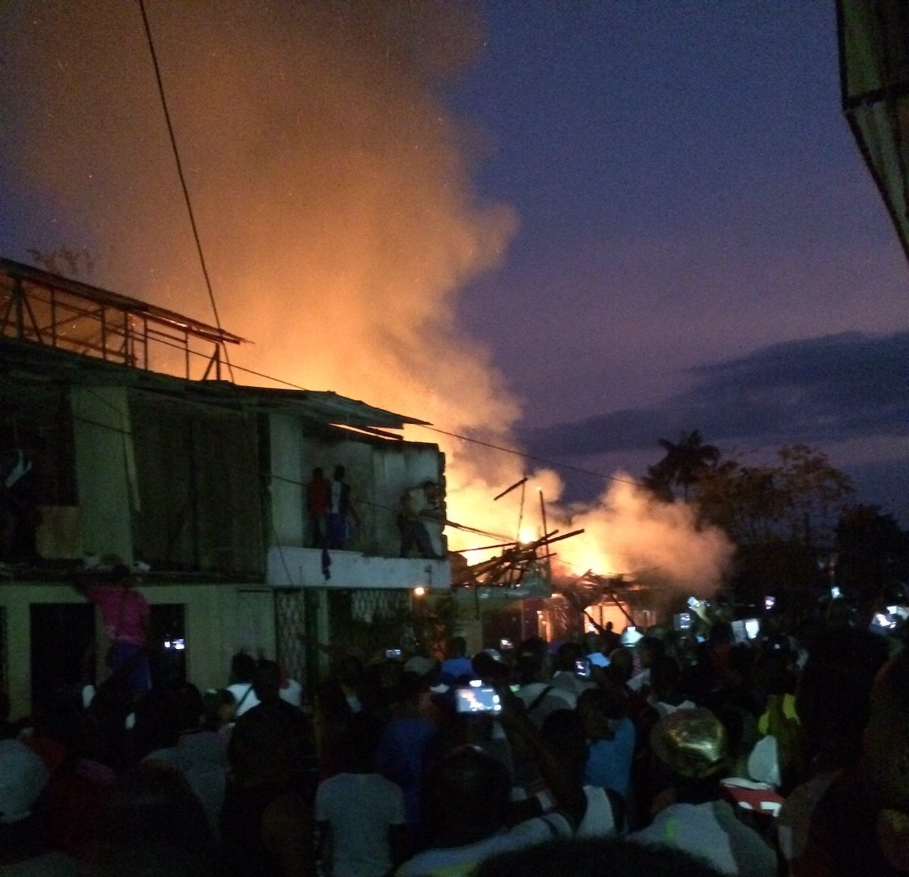 Incendio en Guapi, Colombia