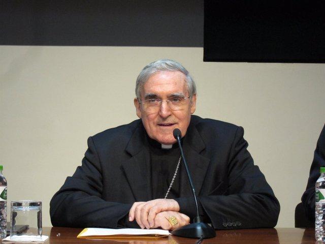 El arzobispo de Barcelona, Lluís Martínez Sistach