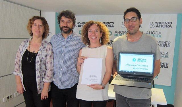 Micol, Alzamora, Alicia Morales y Luis Bermejo.