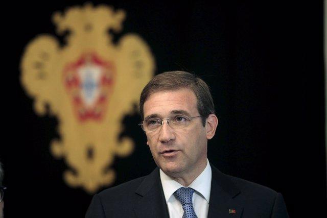El primer ministro de Portugal, Pedro Passos Coelho