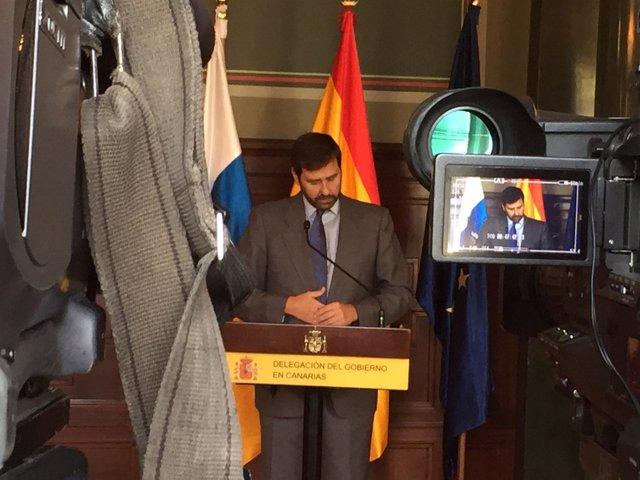 El subsecretario del Ministerio del Interior, Luis Aguilera