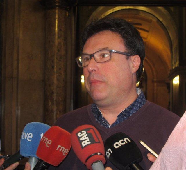 El coordinador general de EUiA, Joan Josep Nuet
