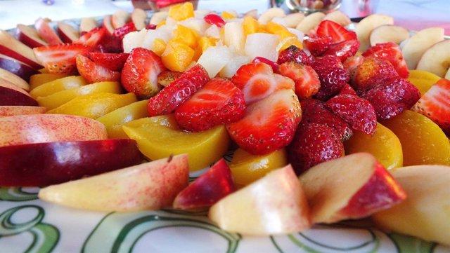 Frutas, macedonia, fruta