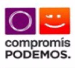 Anagrama de la coalición Compromís-Podemos