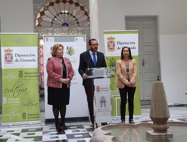 Presentación del Proyecto Lorca en la Diputación de Granada.