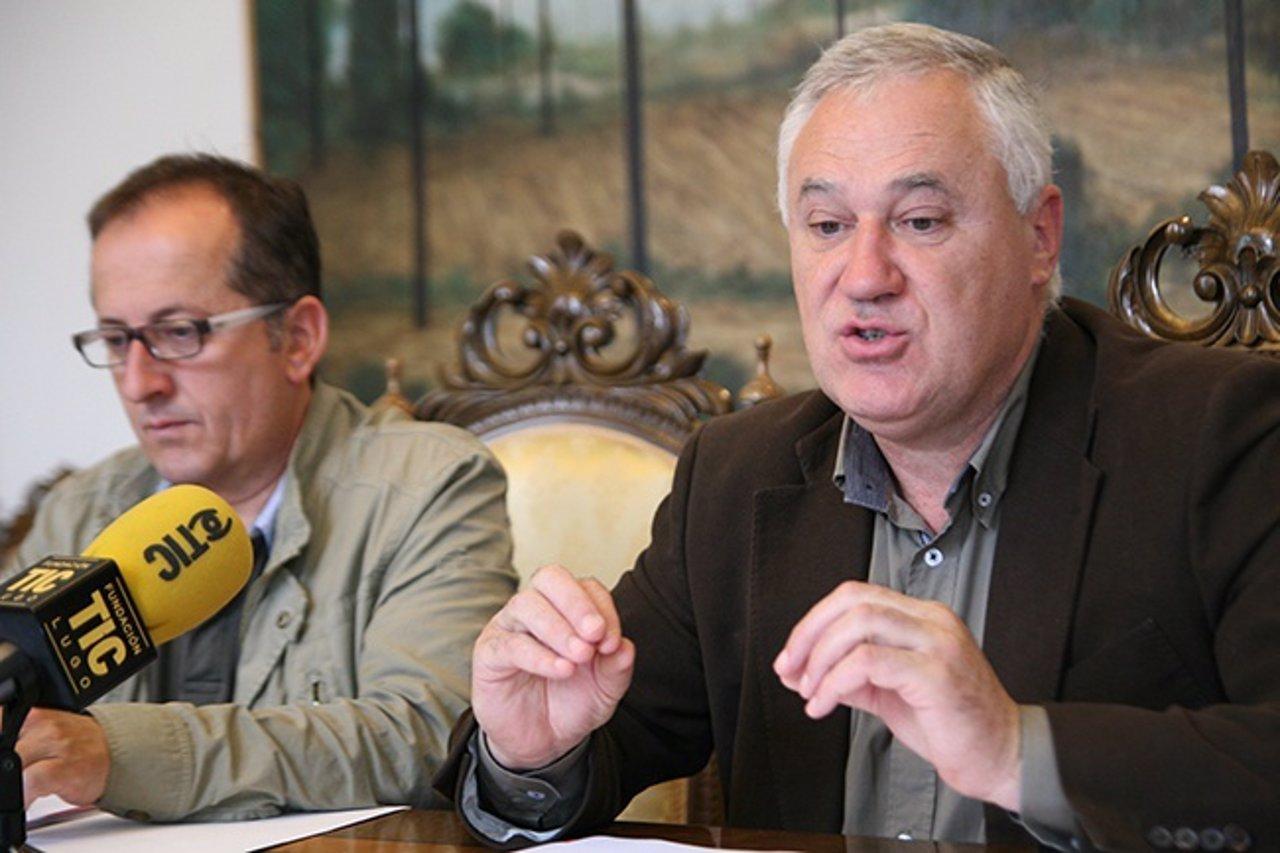 Manuel Martínez, diputado de la Diputación de Lugo y alcalde de Becerreá