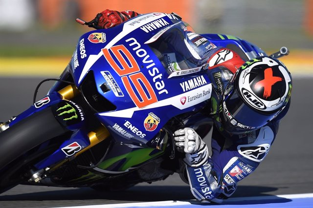 El piloto español de MotoGP Jorge Lorenzo (Yamaha)