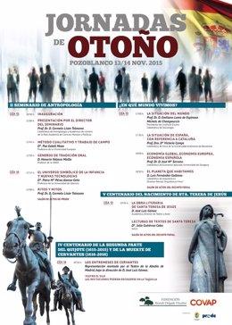 Cartel de las Jornadas de Otoño 2015
