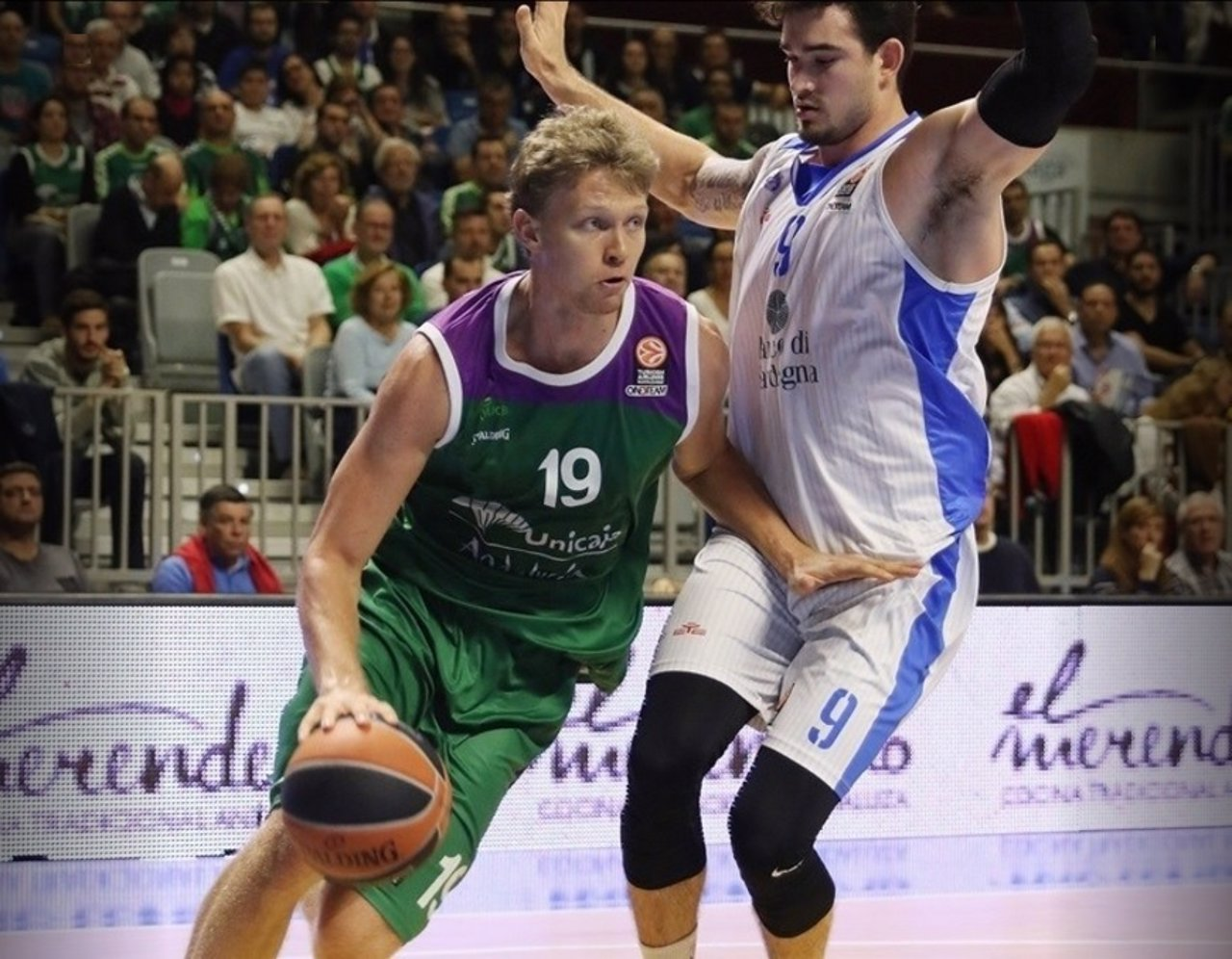 Mindaugas Kuzminskas, jugador de Unicaja
