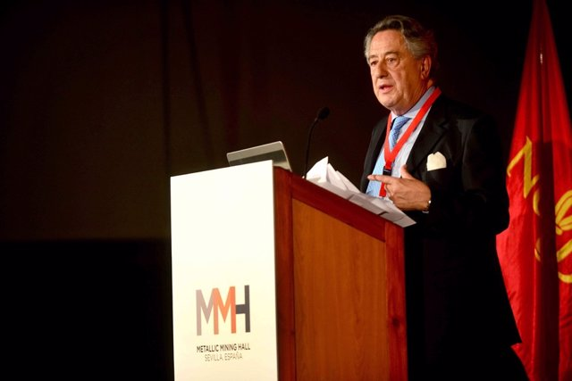 El consejero delegado de Atlantic Copper, Javier Targuetta, en el MMH