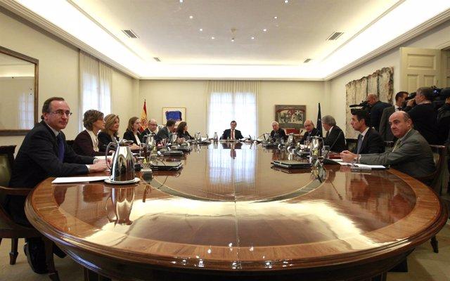 Rajoy preside el último Consejo de Ministros de la legislatura