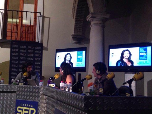 Los Baños Árabes acoge el programa 'Hora 25' en Jaén
