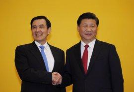 EEUU aplaude el histórico encuentro entre los presidentes de China y Taiwán