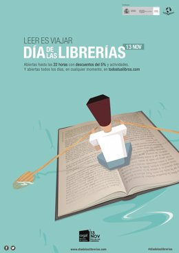 Cartel del Dïa de las Librerías