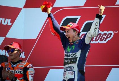 Jorge Lorenzo se proclama campeón del mundo en MotoGP