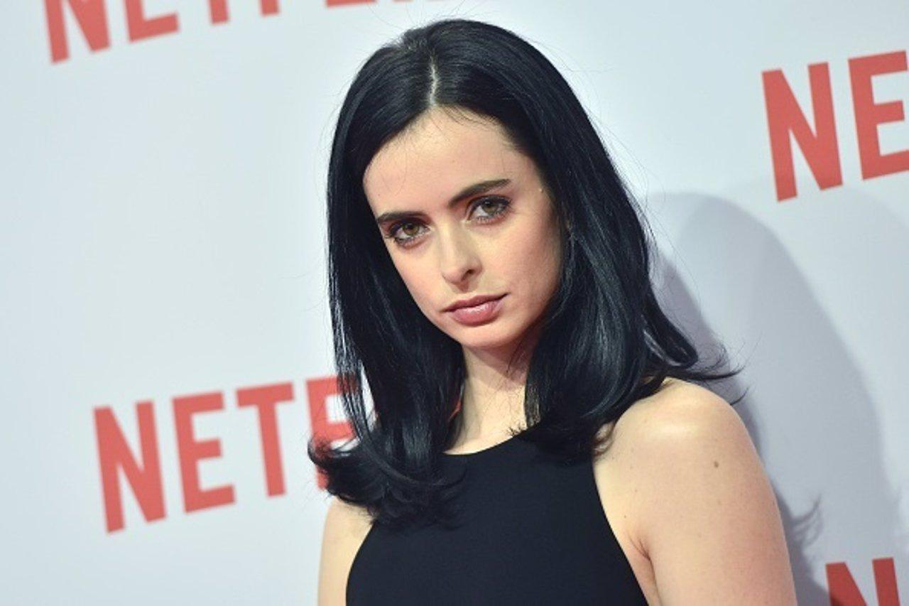 Krysten Ritter en el photocall de 'Jessica Jones' de Netflix