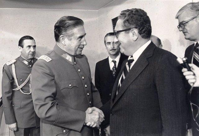 Operación Cóndor, Pinochet y Kissinger