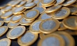 Monedas de real brasileño