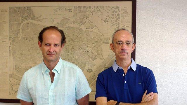 Alvaro Gómez y Rafael Pino