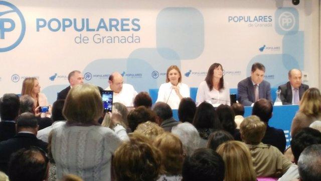Cospedal, en Granada