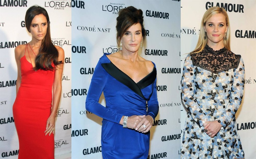 Victoria Beckham, Reese Whiterspoon y Caitlyn Jenner