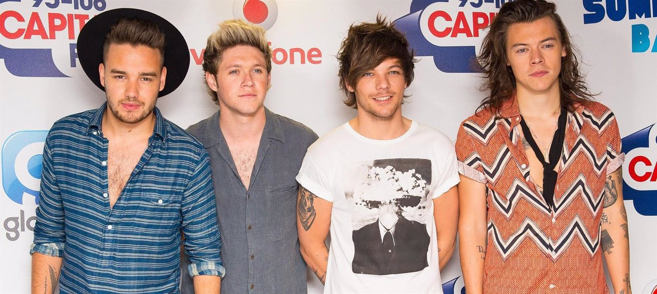 Liam Payne, Niall Horan, Louis  Tomlinson Y Harry Styles