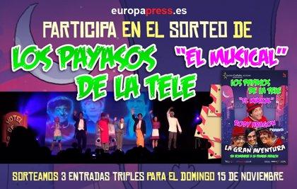 SORTEO: Te invitamos a Los payasos de la Tele - El musical
