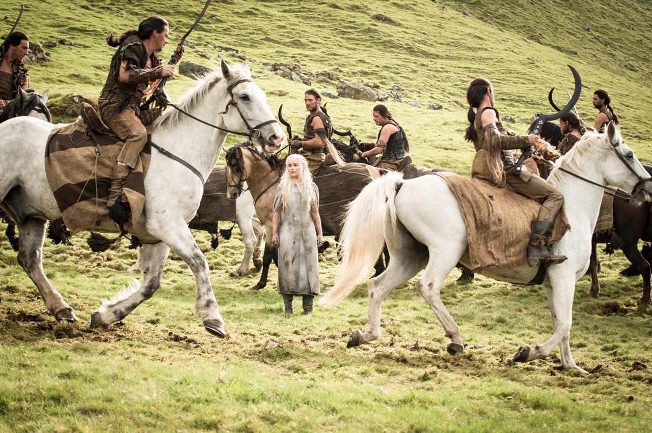 Daenerys en Juego de tronos