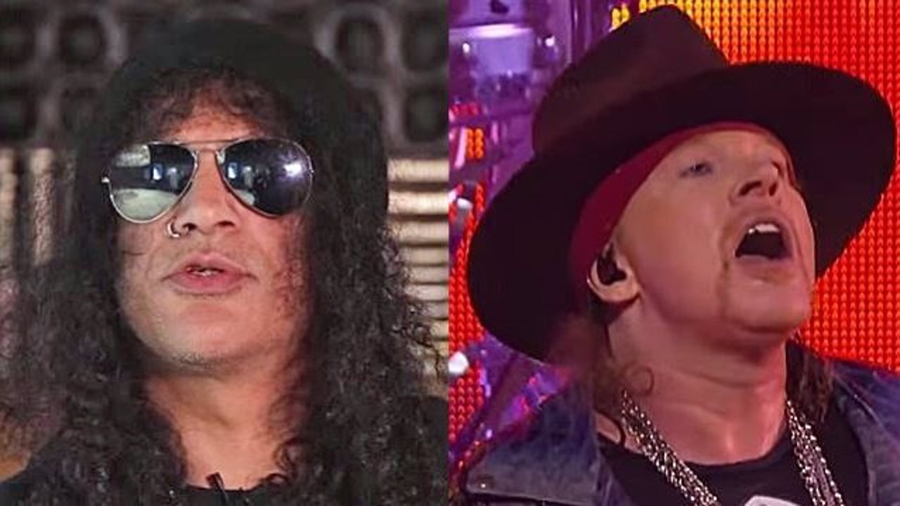 Slash y Axl