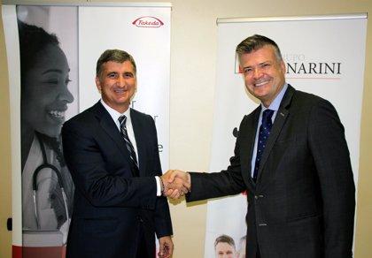 Menarini y Takeda firman un acuerdo de promoción en España de tres nuevos fármacos para la diabetes tipo II