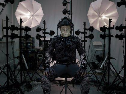 Star Wars 7: Filtrada primera imagen del Líder Supremo Snoke (Andy Serkis)