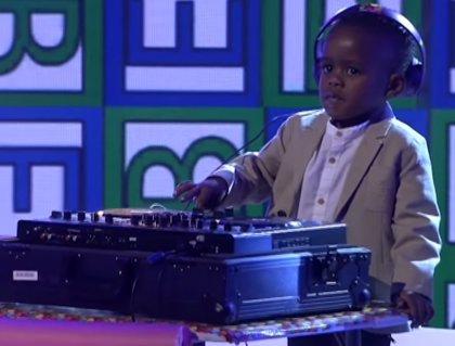 Conoce al niño dj de 3 años que ha ganado el talent show más famoso de Sudáfrica