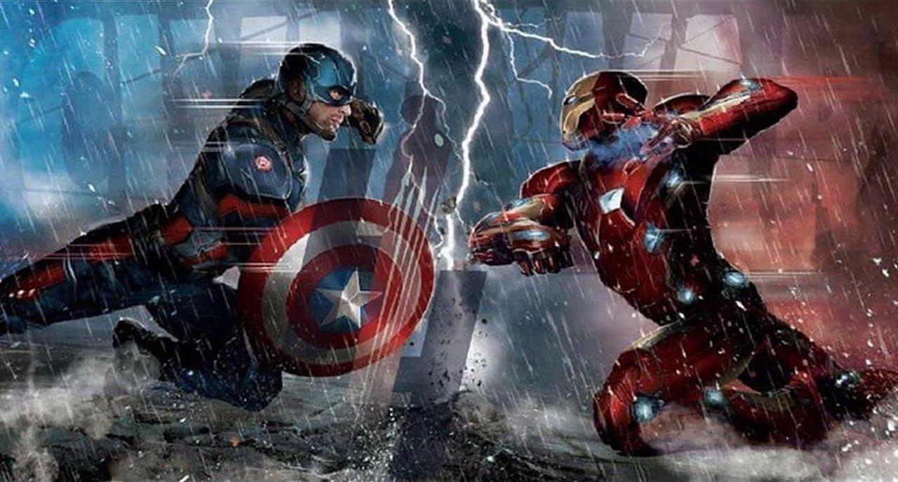 Capitan América contra Iron Man