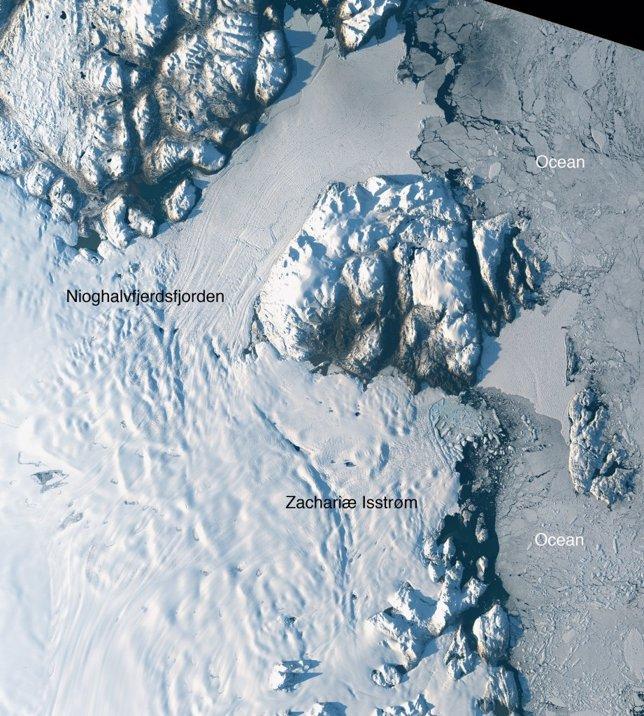 Glaciar Zachariae Isstrom