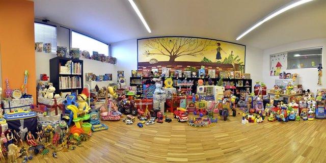Parroquias recogida juguetes madrid