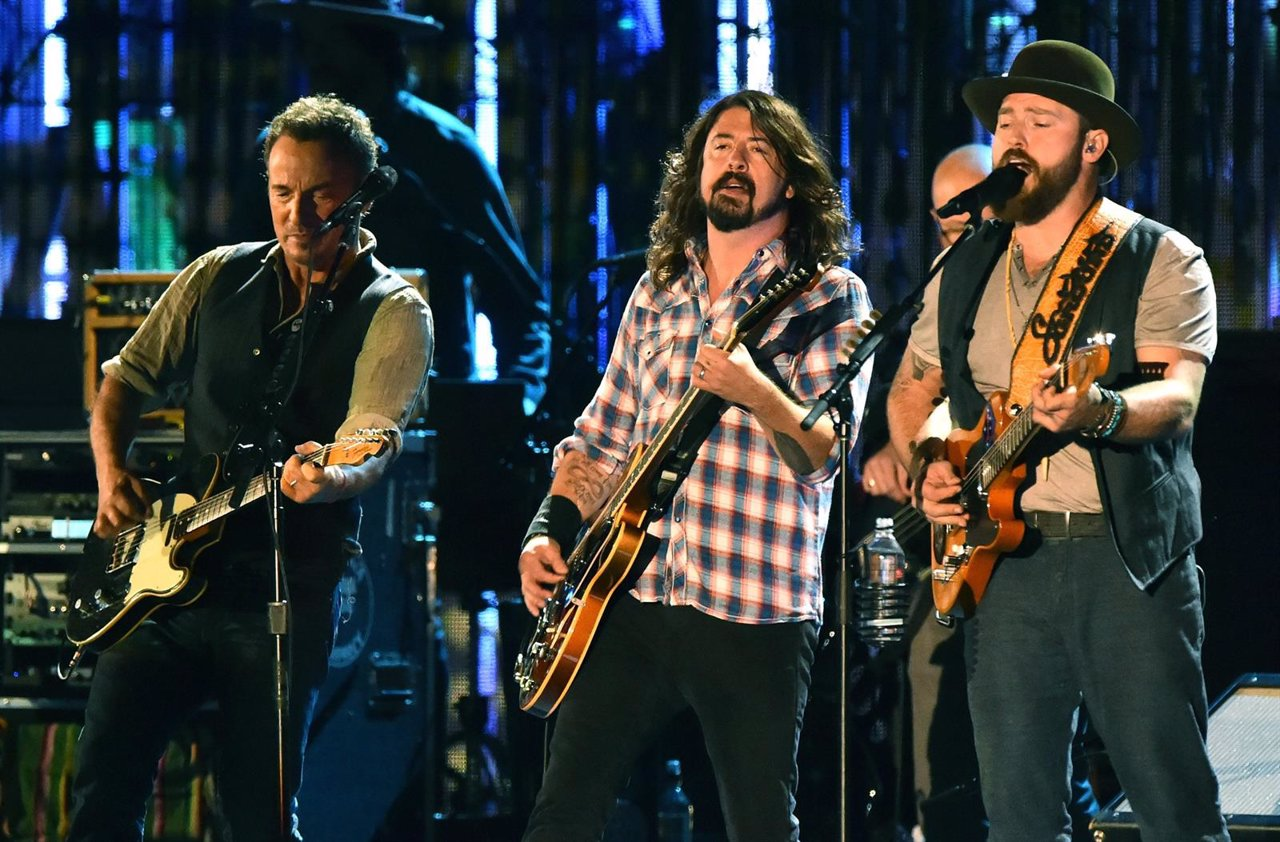 Bruce Springsteen, Dave Grohl y Zac Brown