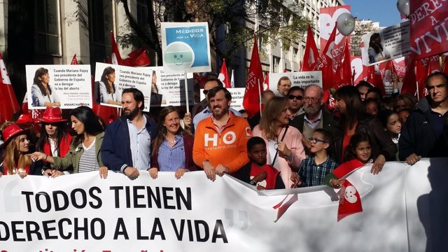 Bascal, Arsuaga, Méndez Monasterio y Joya en la VI Marcha por la Vida