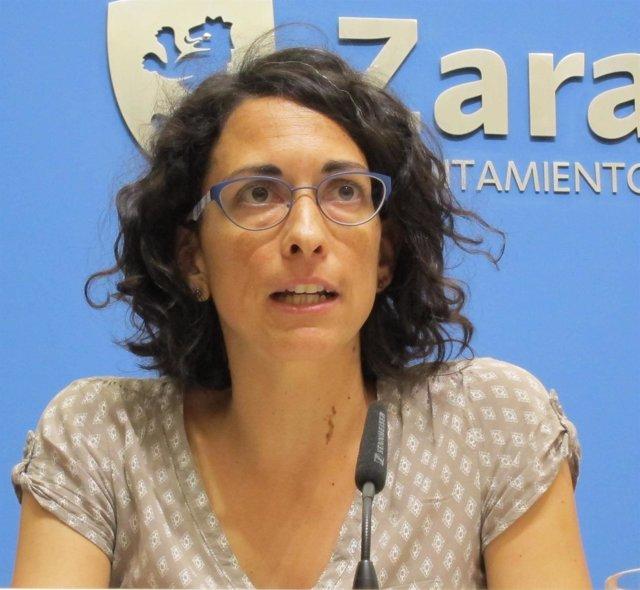 Elena Giner, teniente de alcalde y concejal delegada del Ayuntamiento de Zaragoz