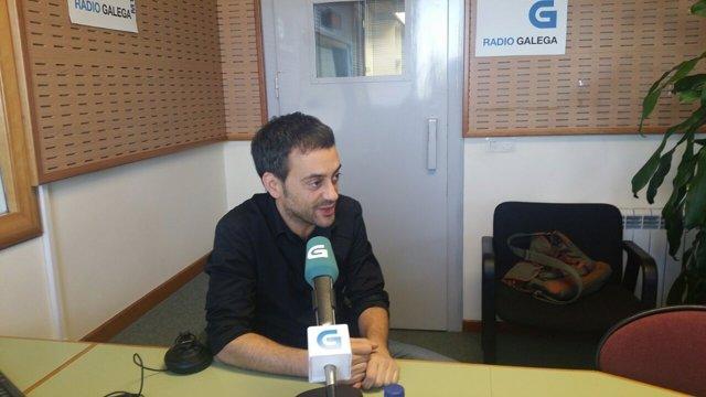 El alcalde de A Coruña, Xulio Ferreiro, en la Radio Galega