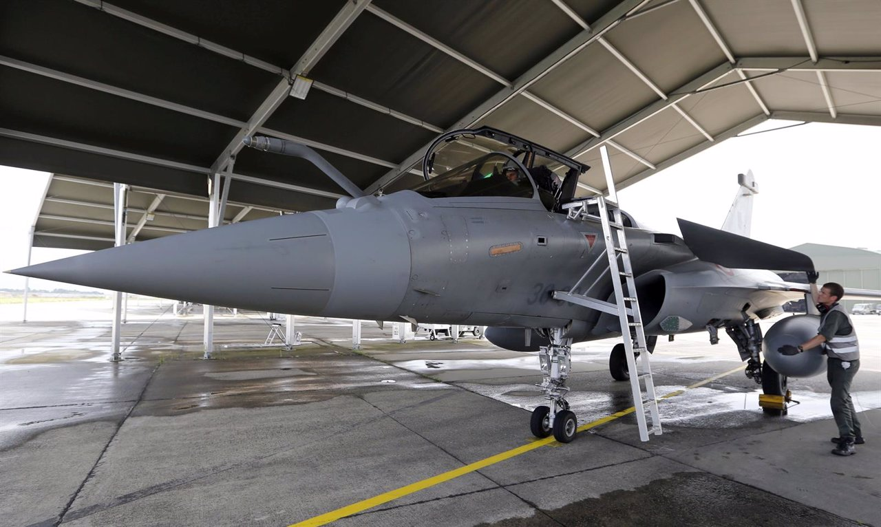 Avión de la fuerza aérea francesa
