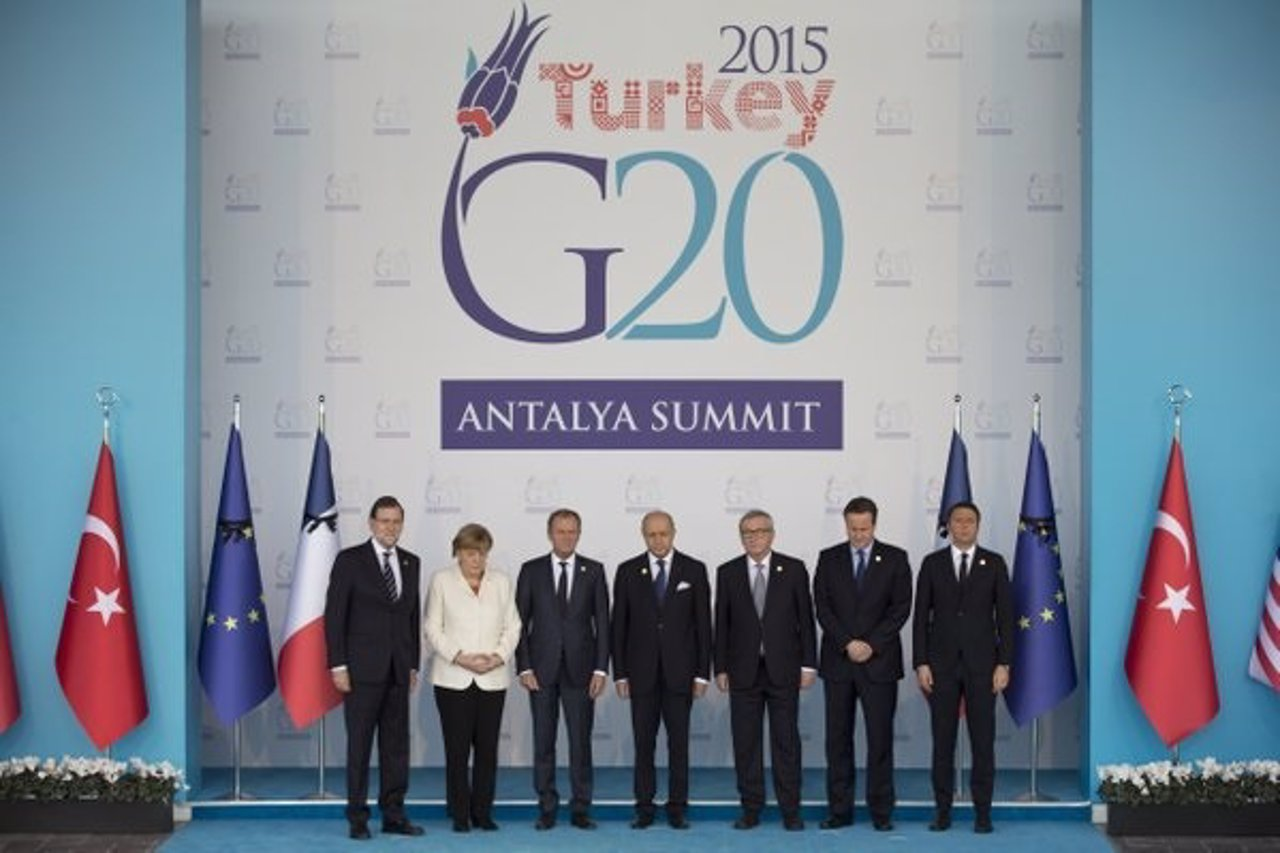 Mariano Rajoy G20 Turquía