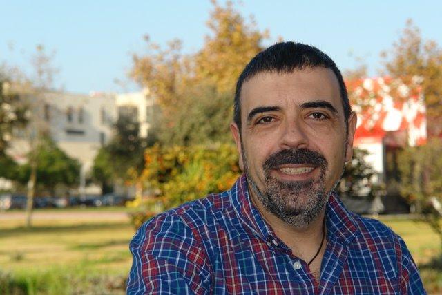 El profesor Felipe Jiménez Blas de la Universidad de Huelva.