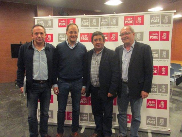 Encuentro con dirigentes y cargos socialistas de la provincia