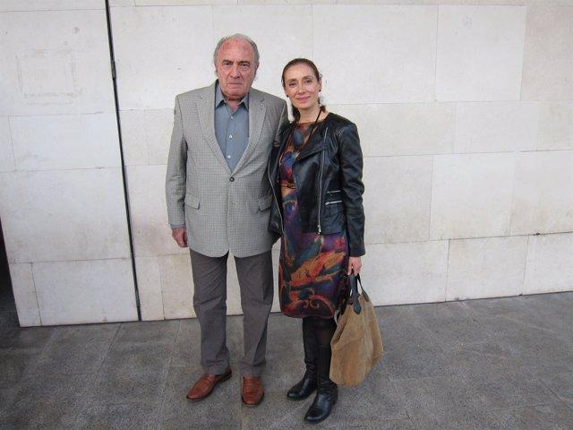 Josep Lluis Albiñana y Rosana Pastor