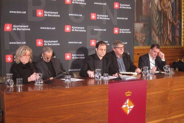 M.J.Lecha, D.Arcos, J.Asens, G.Ramellini y A.Bosch