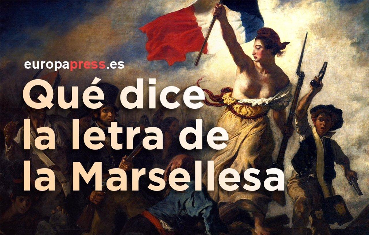 Letra del himno francés de La Marsellesa