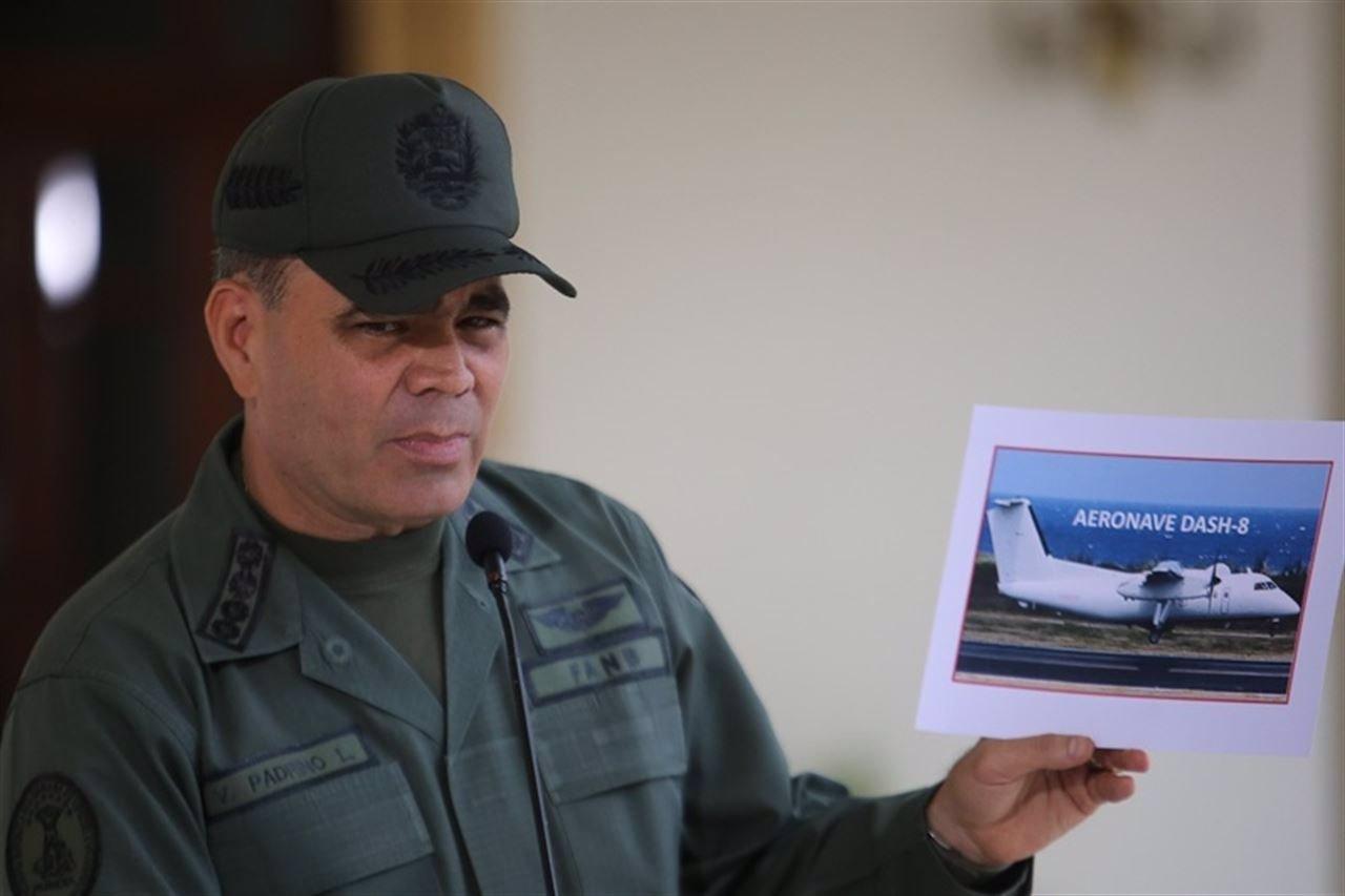 EEUU reconoce que un avión sobrevoló el espacio aéreo de Venezuela y se disculpa