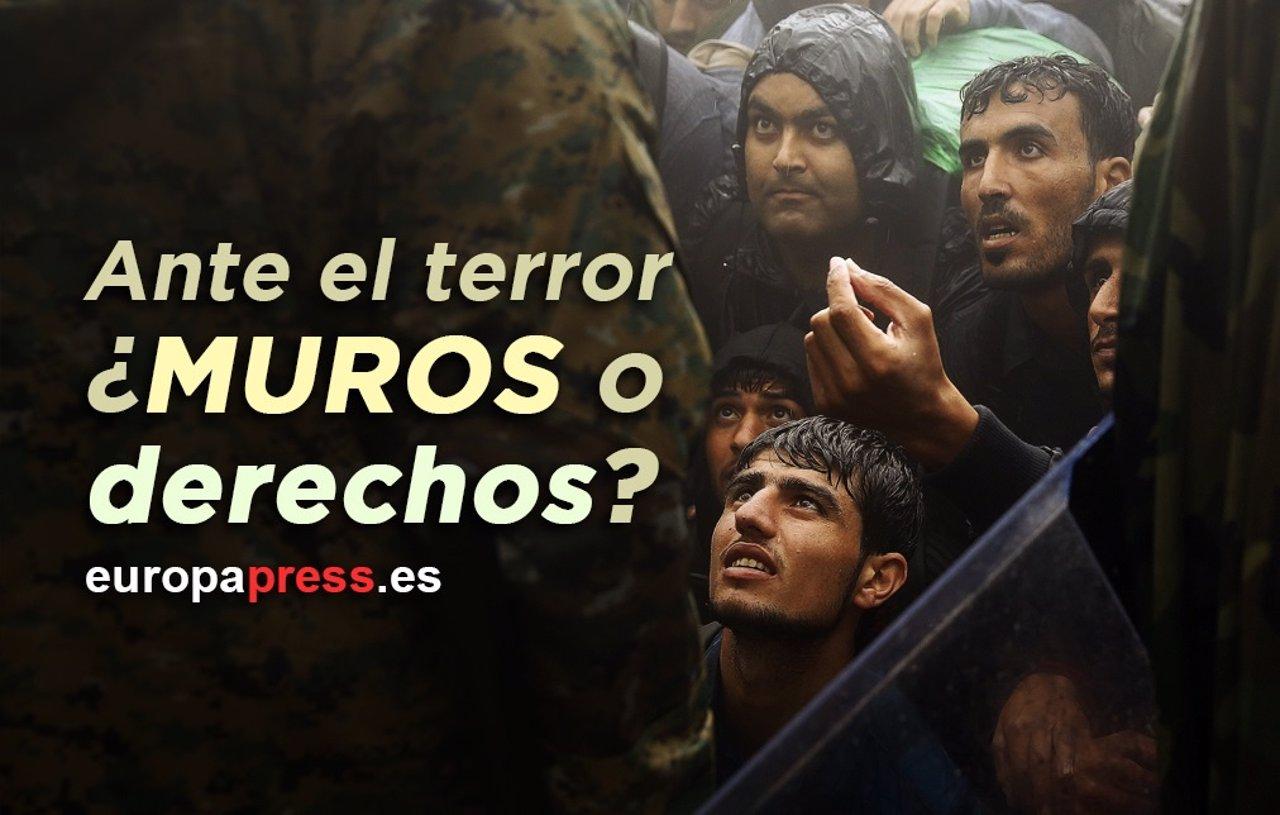 Ante el terror, ¿muros o derechos?