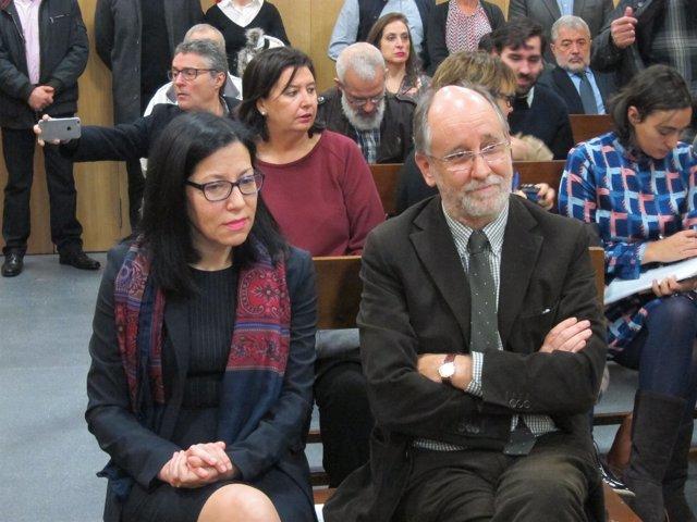 Áurea Soto en el banquillo de los acusados